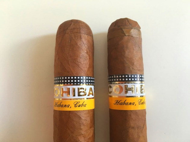 Cohiba ok vs falso 4