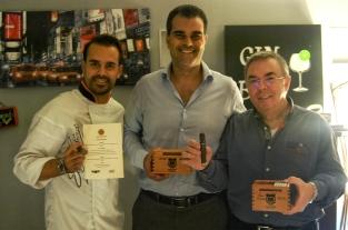 Victor Sobejano, Christian Eiroa y Ramón Zapata