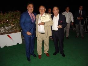 Nick Perdomo, José Martinez Franco y Ramón Zapata (De izq a dcha)