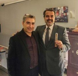Servando Gonzálex y socio CMH