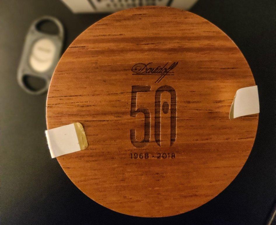 Jarra DAVIDOFF 50th Anniversary Limited Edition Diademas Finas