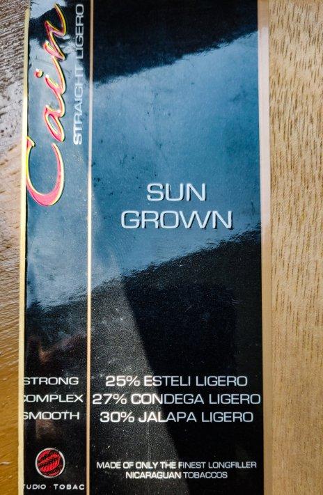 CAIN SunGrown Robusto